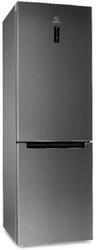Холодильник с морозильником INDESIT DF 5180 X M серебристый