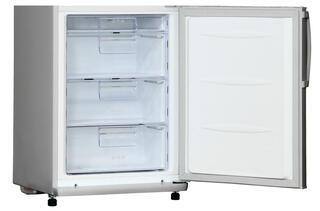 Холодильник с морозильником LG GA-B409UMDA серебристый