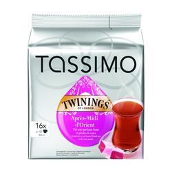 Чай в капсулах TASSIMO Twinings Апрэ Миди Дориан