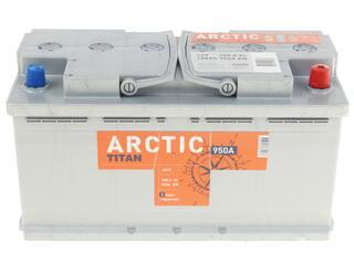 Автомобильный аккумулятор TITAN Arctic Silver 6СТ-100.0