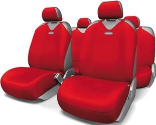 Чехлы на сиденье AUTOPROFI R-1 SPORT PLUS R-902P красный