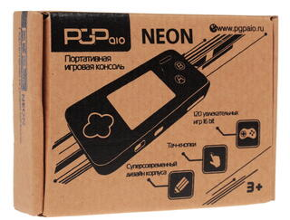 Портативная игровая консоль PGP AIO Neon  + 120 игр