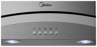 Вытяжка каминная Midea E60AEW3V02 серебристый