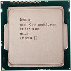 Процессор Intel Pentium G3420