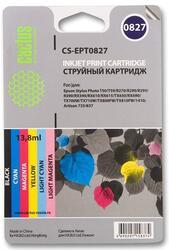 Картридж струйный Cactus CS-EPT0827