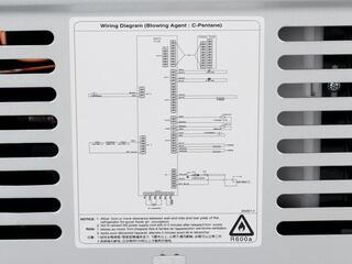 Холодильник Daewoo Electronics FRN-X22B5CW белый