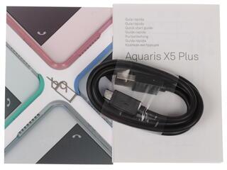 "5"" Смартфон BQ Aquaris X5 Plus 16 ГБ черный"