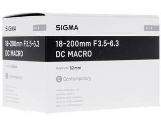 Объектив Sigma AF 18-200mm F3.5-6.3 DC Macro OS HSM Contemporary