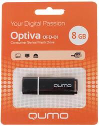 Память USB Flash Qumo Optiva 01 8 Гб