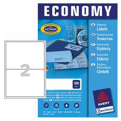 Самоклеящиеся этикетки Avery Zweckform Economy EC9156-100
