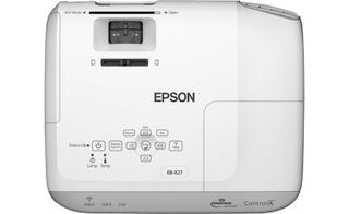 Проектор Epson EB-X27 белый
