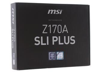 Материнская плата MSI  Z170A SLI PLUS