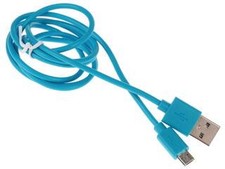 Кабель Qumo 20985 USB 2.0 A - micro USB B синий