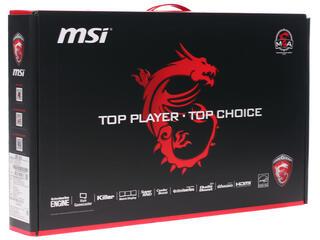 """15.6"""" Ноутбук MSI GP62 Leopard Pro 6QF-466RU черный"""