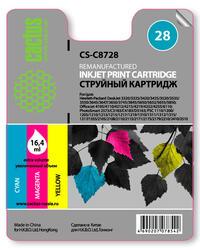 Картридж струйный Cactus CS-C8728