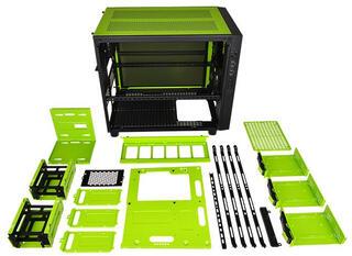 Корпус Thermaltake Core X5 Riing Edition зеленый