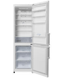 Холодильник с морозильником LG GA-B489ZVCA белый