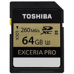 Карта памяти Toshiba EXCERIA PRO SDXC 64 Гб