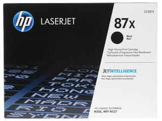 Картридж лазерный HP 87X (CF287X)