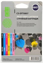 Картридж струйный Cactus CS-EPT0807