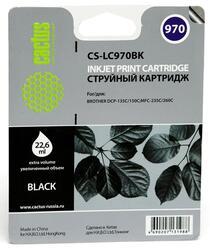 Картридж струйный Cactus CS-LC970BK