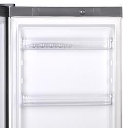 Холодильник с морозильником INDESIT DFE 4160 S серебристый