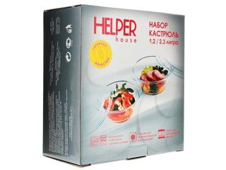 Стеклянная посуда Helper 4522
