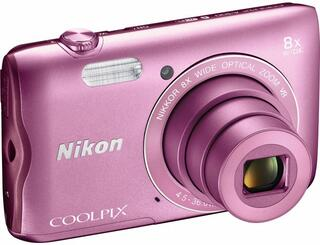 Компактная камера Nikon Coolpix A300 розовый