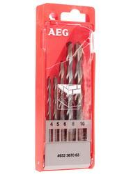 Набор сверл AEG DIN 8039