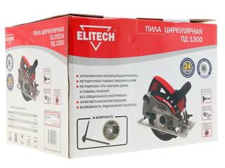 Пила дисковая Elitech ПД 1300