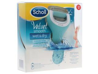 Электрическая пемза Scholl Velvet smooth Wet&Dry