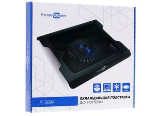 Подставка для ноутбука FinePower IC-588A черный