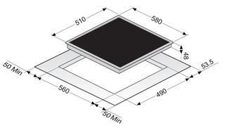 Электрическая варочная поверхность Zigmund & Shtain CNS 333.60 BK