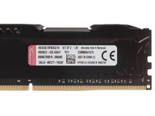 Оперативная память Kingston HyperX FURY [HX424C15FB2K2/16] 16 ГБ