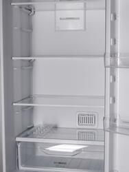 Холодильник с морозильником INDESIT DFE 4200 S серебристый