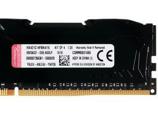Оперативная память Kingston HyperX FURY [HX421C14FBK4/16] 16 Гб