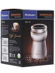 Кофемолка Rolsen RCG-151 Red красный