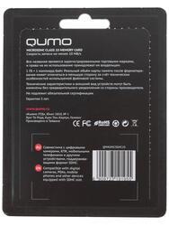 Карта памяти QUMO microSDHC 4 Гб