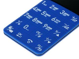 Сотовый телефон Elari Card-phone синий