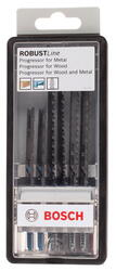 Пилки для лобзика Bosch Robust Line 2607010531