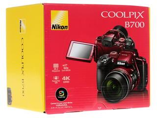 Компактная камера Nikon Coolpix B700 красный