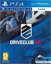 Игра для PS4 Driveclub VR