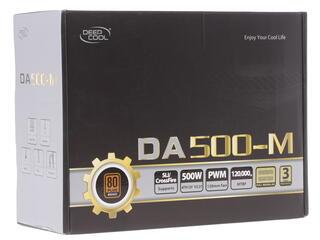 Блок питания Deepcool DA 500W [DA500-M]