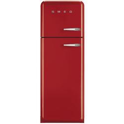 Холодильник с морозильником Smeg FAB30LR1 красный