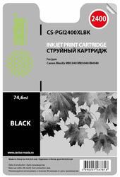 Картридж струйный Cactus CS-PGI2400XLBK