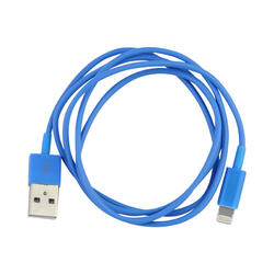 Кабель FinePower FPU8100MPBl Lightning 8-pin - USB синий