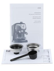 Кофеварка Delonghi EC 220 CD черный