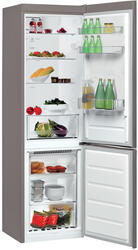 Холодильник с морозильником WHIRLPOOL BSNF 8101 OX серебристый