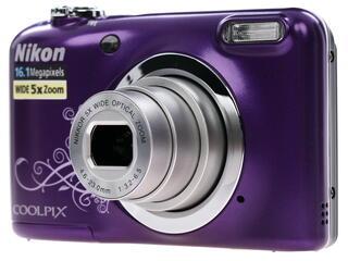 Компактная камера Nikon Coolpix A10 фиолетовый