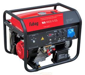 Бензиновый электрогенератор Fubag BS 6600 А ES